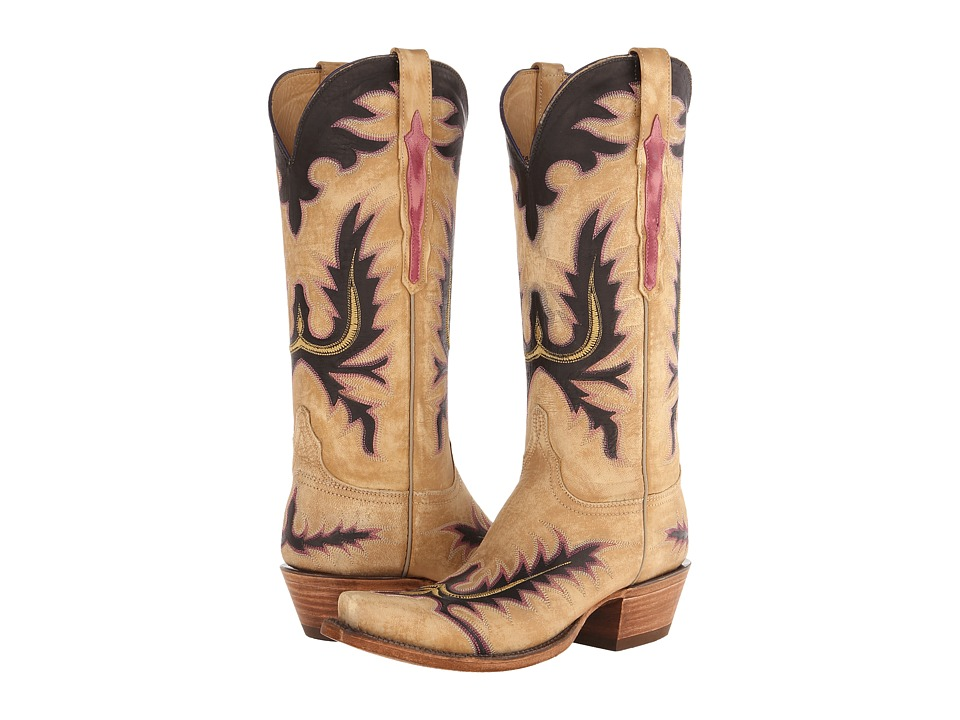 Lucchese L4740.S54 (Destroyed Winter Cream) Cowboy Boots