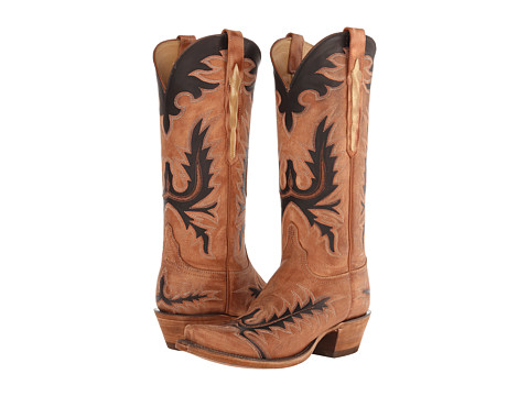 Lucchese L4741.S54 - Destroyed Pearwood Tan