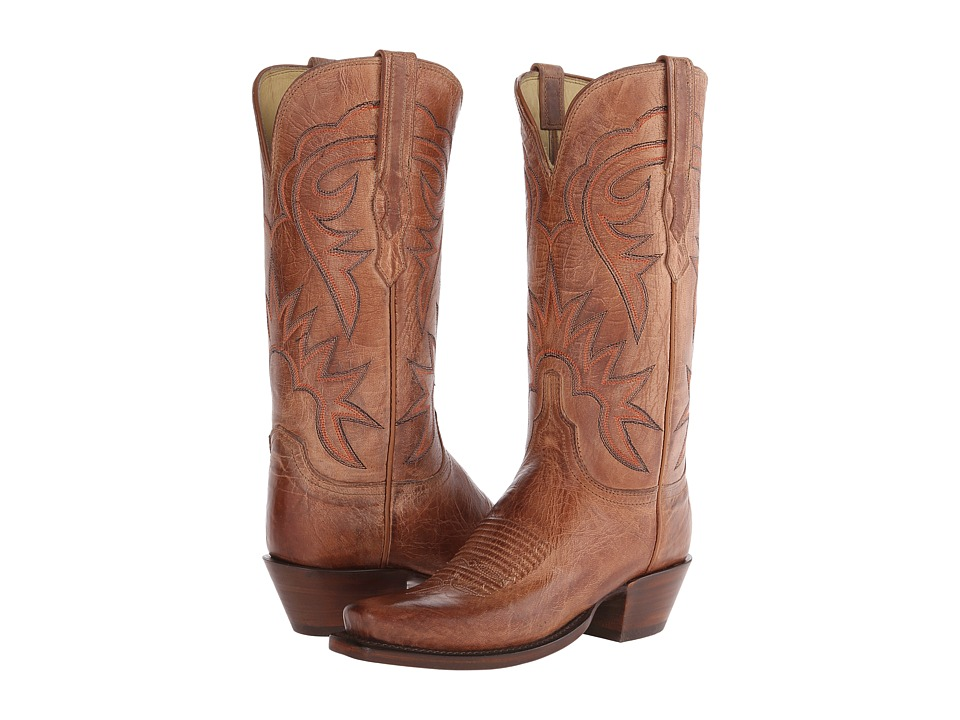 Lucchese HL4509.74 (Tan) Cowboy Boots