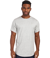 Publish - Shelby Premium Jersey Short Sleeve Crew Neck with Scallop Bottom and 1 X 1 Ribbing Panels At Sleeve and Side Seam