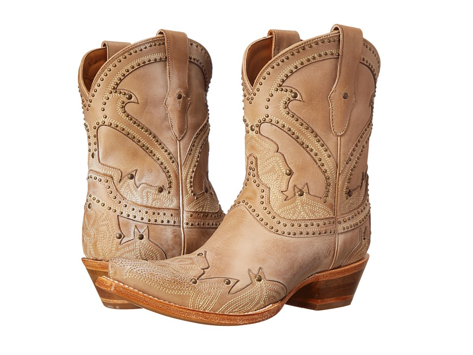 Lucchese Sarabeth (Beige) Cowboy Boots