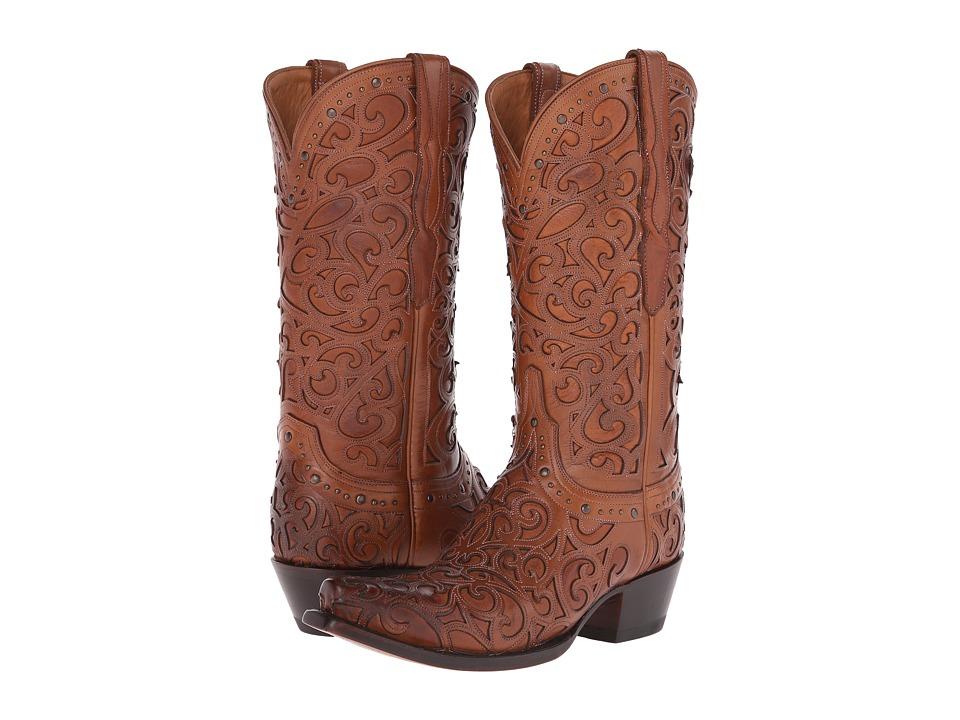 Lucchese Sierra (Tan) Cowboy Boots
