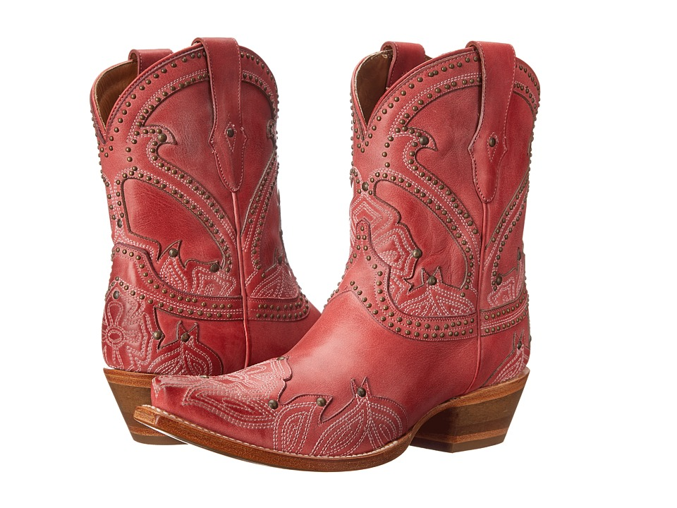 Lucchese - Sarabeth (Pink) Cowboy Boots