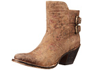 Lucchese Catalina (Brown Floral Print)