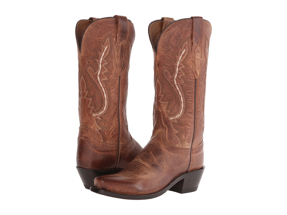 Lucchese - Cassidy (Tan Mad Dog) Cowboy Boots