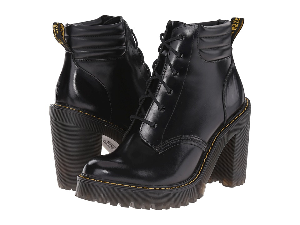 Dr. Martens Persephone Black Buttero Womens Shoes