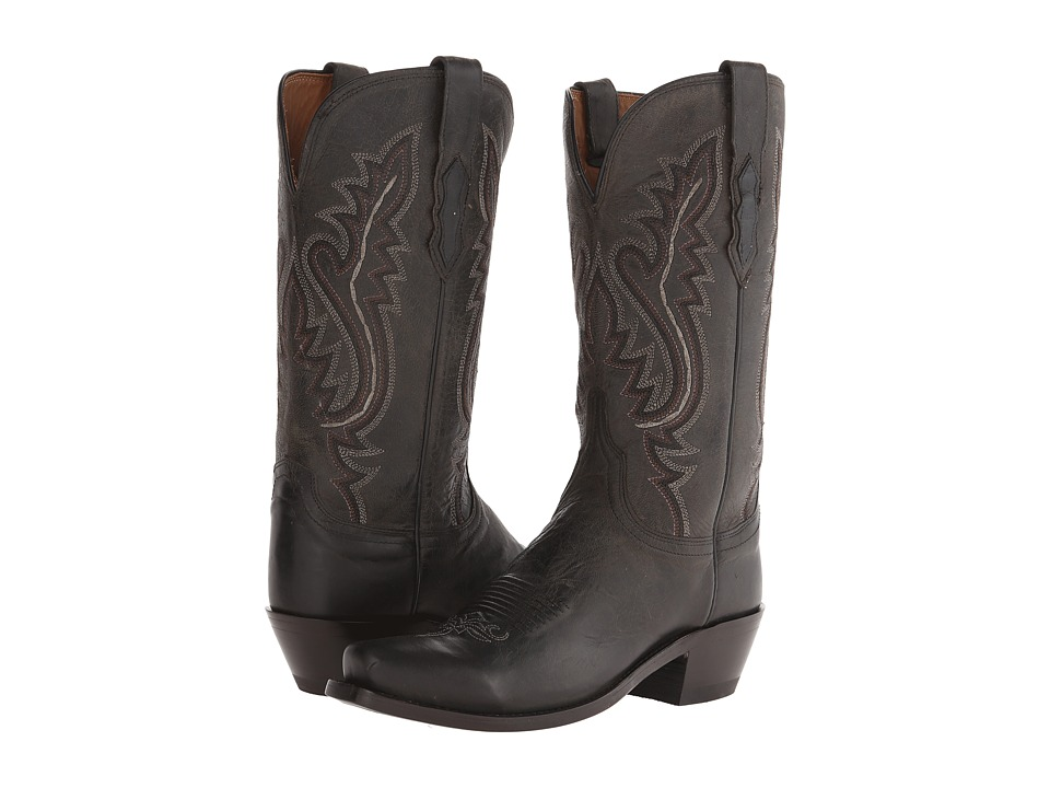 Lucchese Cassidy (Anthracite) Cowboy Boots
