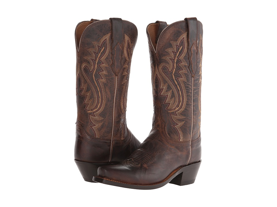 Lucchese Cassidy (Chocolate) Cowboy Boots