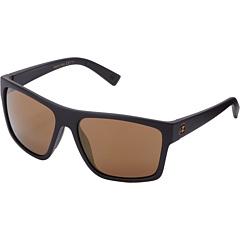 Image of VonZipper - Dipstick (Black Satin Gloss Duo/Gold Glo) Sport Sunglasses