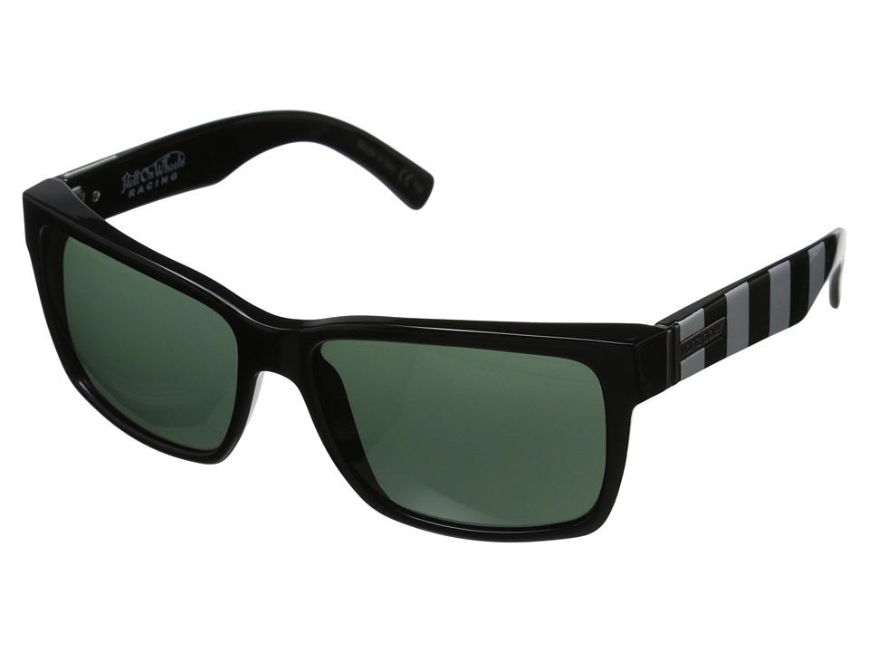 VonZipper Elmore Speedy Magoo Blue/Vintage Grey Sport Sunglasses