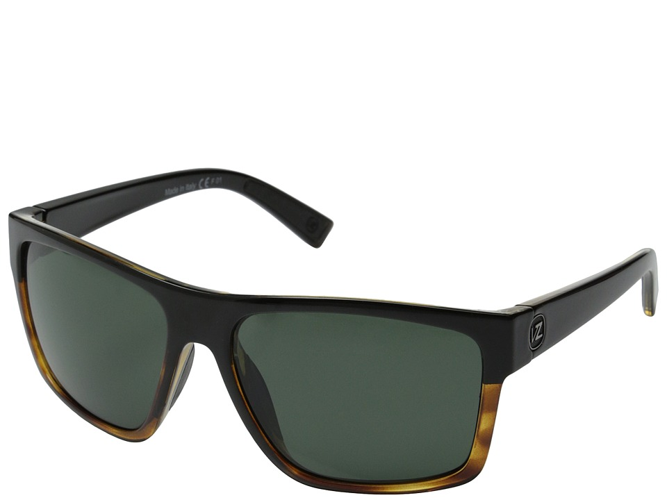 VonZipper Dipstick (Hardline Black Tortoise/Vintage Grey) Sport Sunglasses