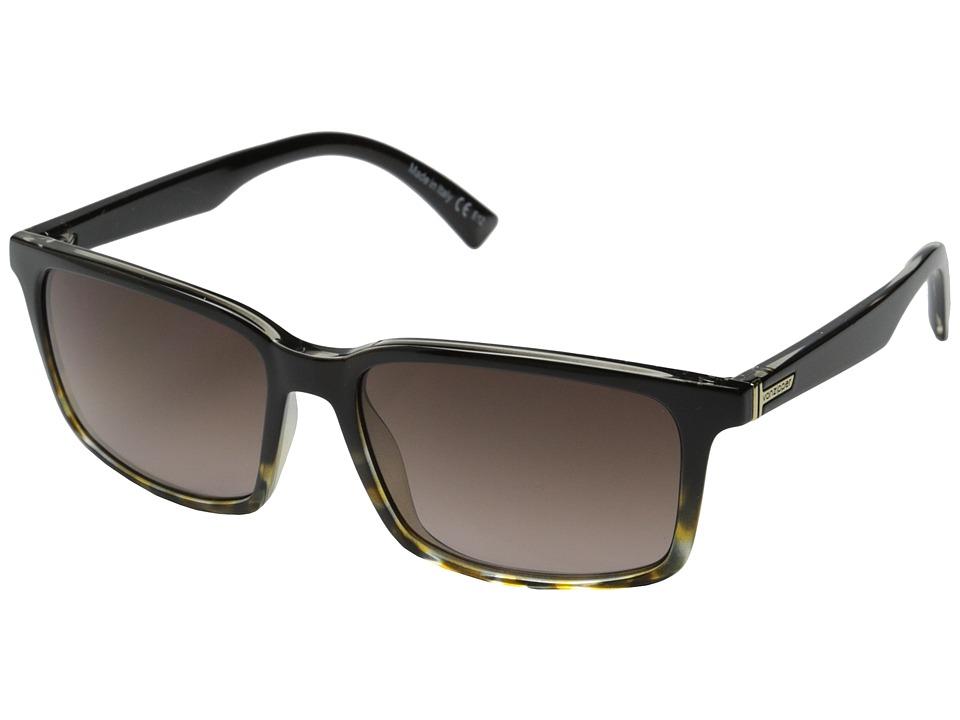 VonZipper Pinch (Black Tortoise/Brown Gradient) Sport Sunglasses