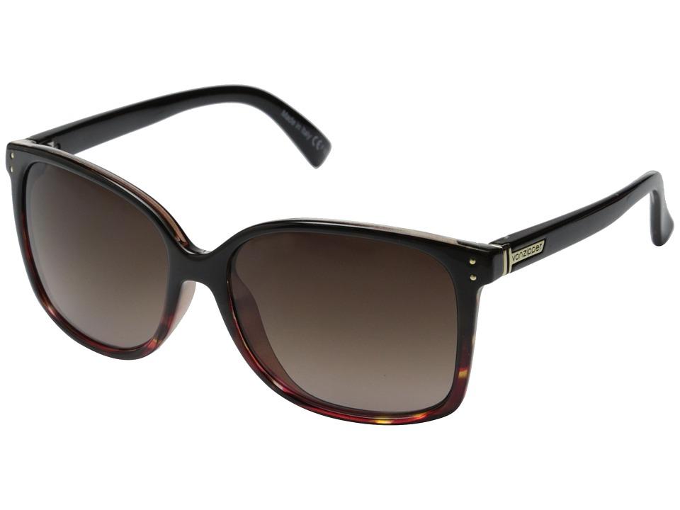 VonZipper Castaway (Muddled Rasberry/Brown Gradient) Sport Sunglasses