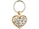 Brighton - Roccoco Heart Key Fob