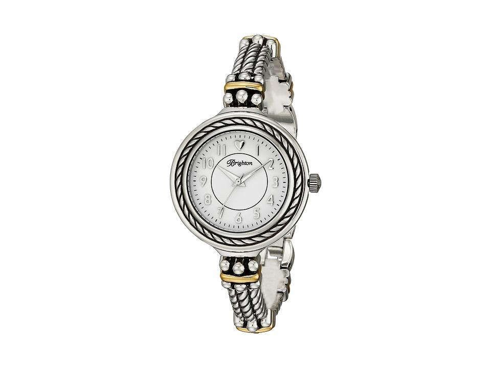 Brighton - W41081 Mendocino Timepiece (Silver/Gold) Watches