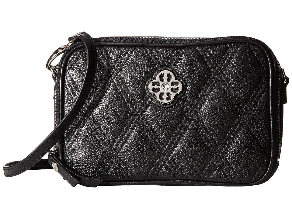My Flat In London - Windsor Double Zip Camera Bag (Black) Shoulder Handbags