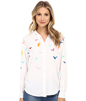 Mara Hoffman - Embroidered Button Up Shirt
