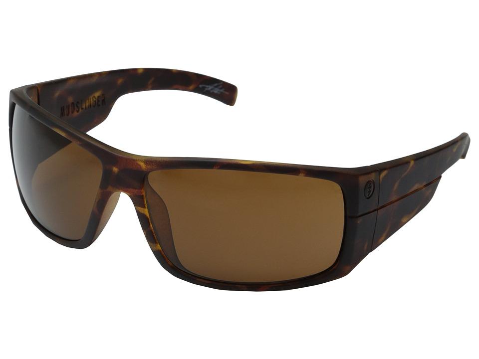 Electric Eyewear Mudslinger Matte Tort Shell/M Brown Sport Sunglasses