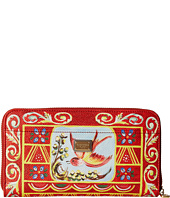 Dolce & Gabbana - Graphic Print Zip Around Wallet