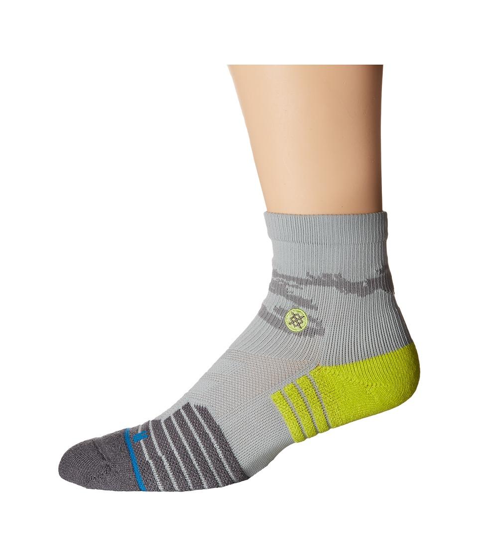 Stance Drill Sergent Quarter Grey Mens Quarter Length Socks Shoes