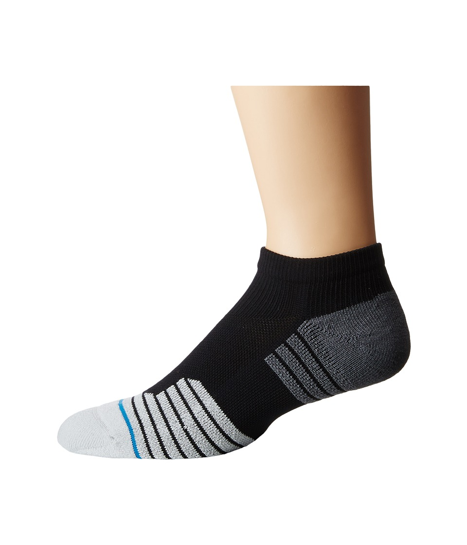 Stance 3Fold Low Black Mens Low Cut Socks Shoes