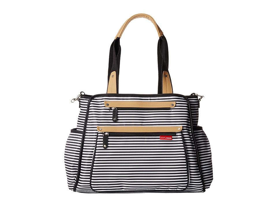 Skip Hop - Grand Central Take-It-All Diaper Bag (Black/White) Diaper Bags