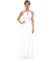 Aidan Mattox - Chiffon Grecian Gown with Beaded Trim