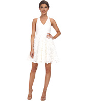 Aidan Mattox - Chiffon Party Dress with Rosette Skirt