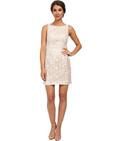 Aidan Mattox - Sleeveless Lace Dress w/ Open Back