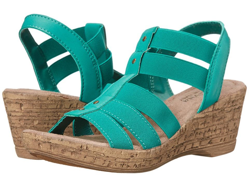 Bella-Vita - Ravenna (Emerald) Women's Wedge Shoes