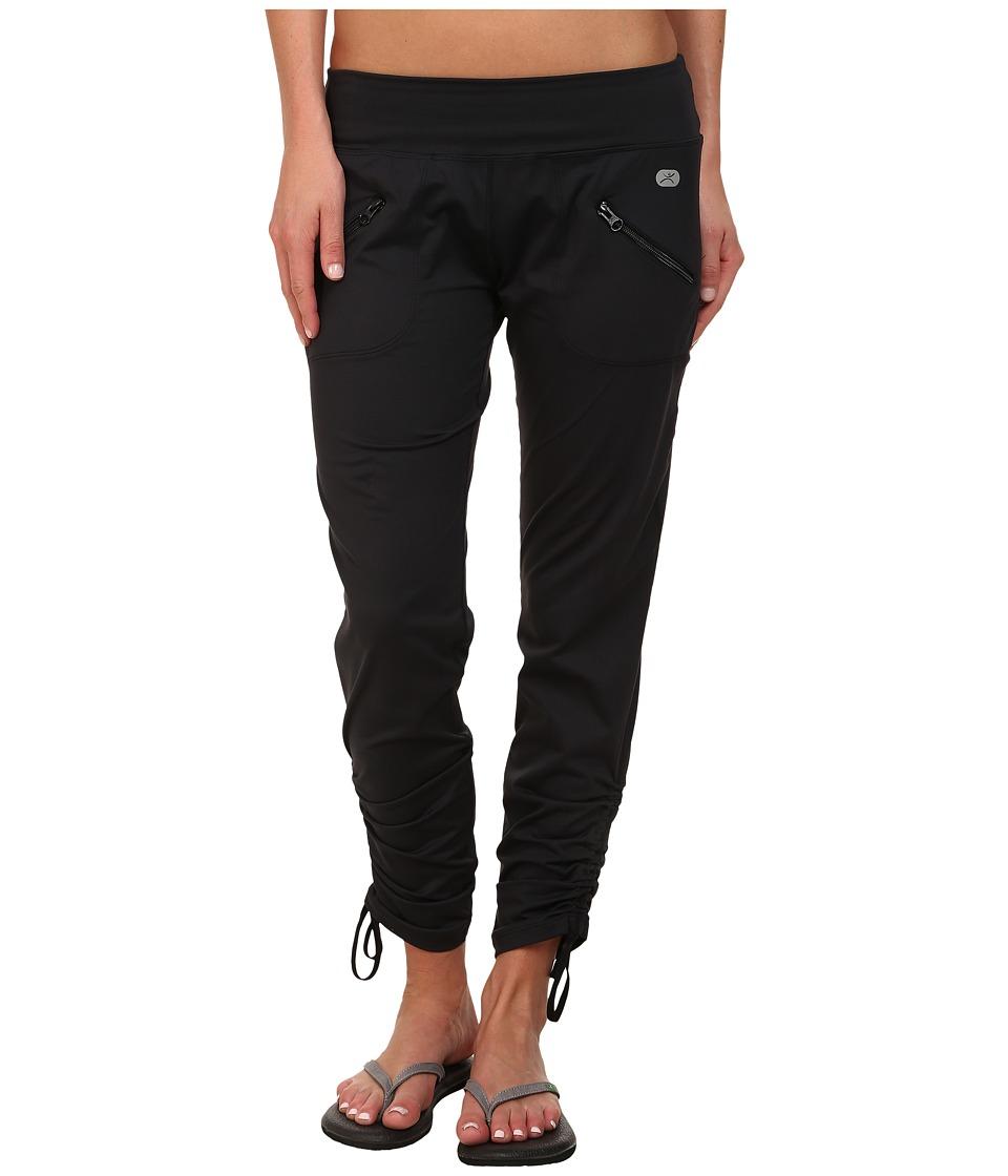 Terramar - Reflextm Get Up Go Pants W8846 (Black) Womens Casual Pants