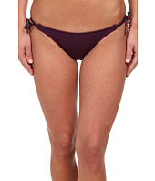 Vix - Sofia by Vix Solid Berry Long Tie Hipster Bottom