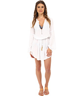 Vix - Solid White Paris Tunic Cover-Up