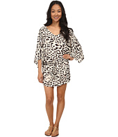 Vix - Kai Off White Carmen Caftan Cover-Up
