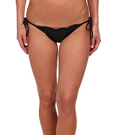 Vix - Sofia by Vix Solid Black Ripple Tie Side Brazilian Bottom