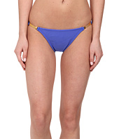 Vix - Solid Blue Undersea Detail Full Bottoms