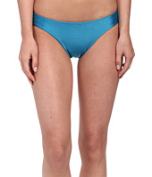 Vix - Solid Blue Ocean Scoop Bottoms