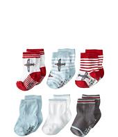 Robeez - 6-Pack Socks Aviator Games w/ Gift Box (Infant)