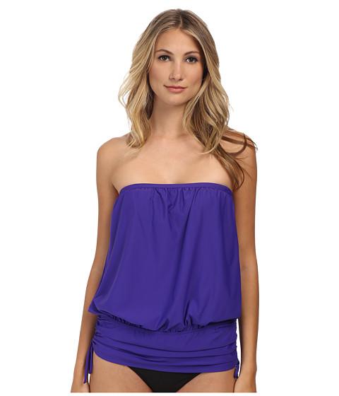 Athena - Finesse Solids Banded Bandini (Grape) Women's Swimwear