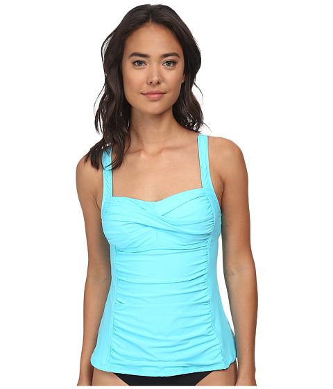 Athena - Finesse Solids Tankini (Lagoon) Women's Swimwear