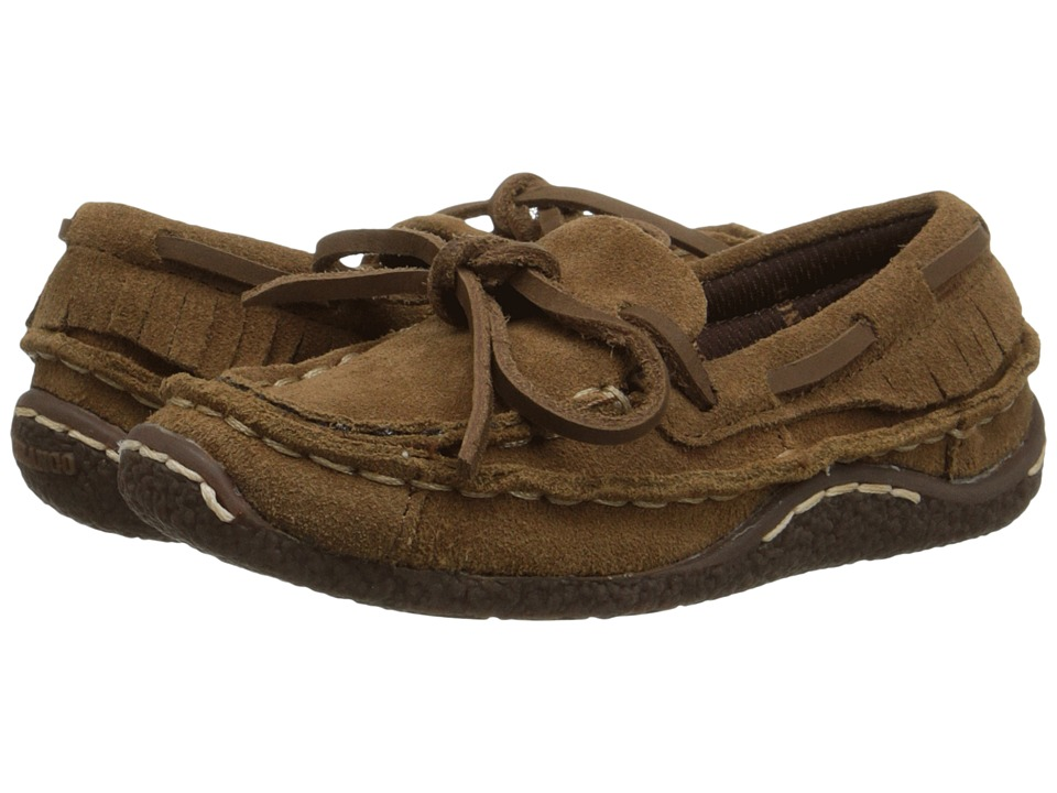 Durango Kids Santa Fe Low Moccasin Toddler/Little Kid Desert Brown Cowboy Boots