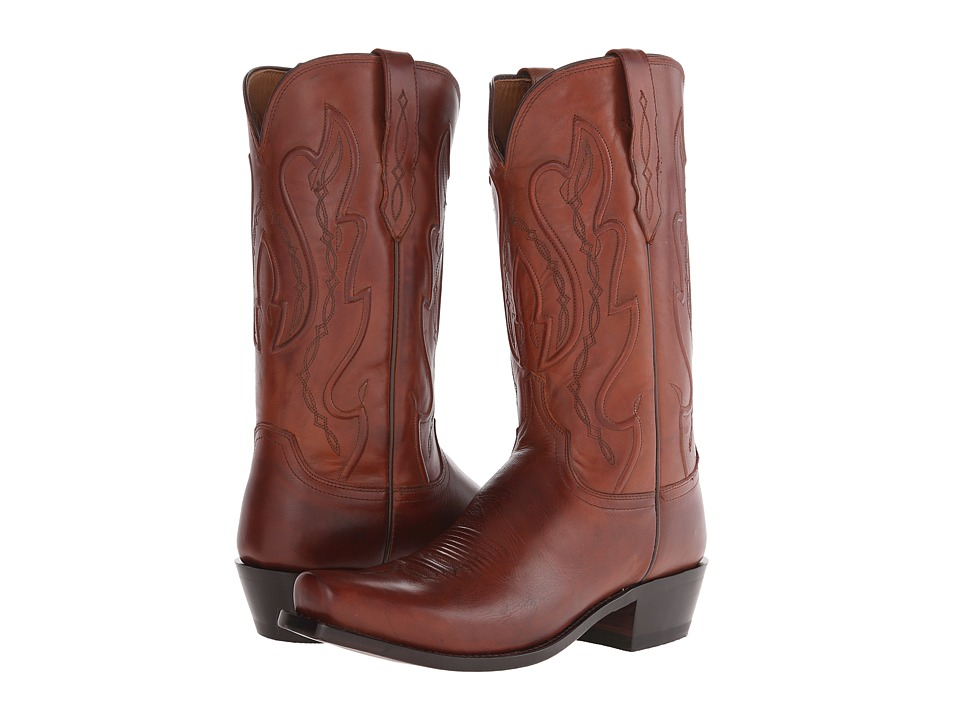 Lucchese - Cole (Tan) Cowboy Boots