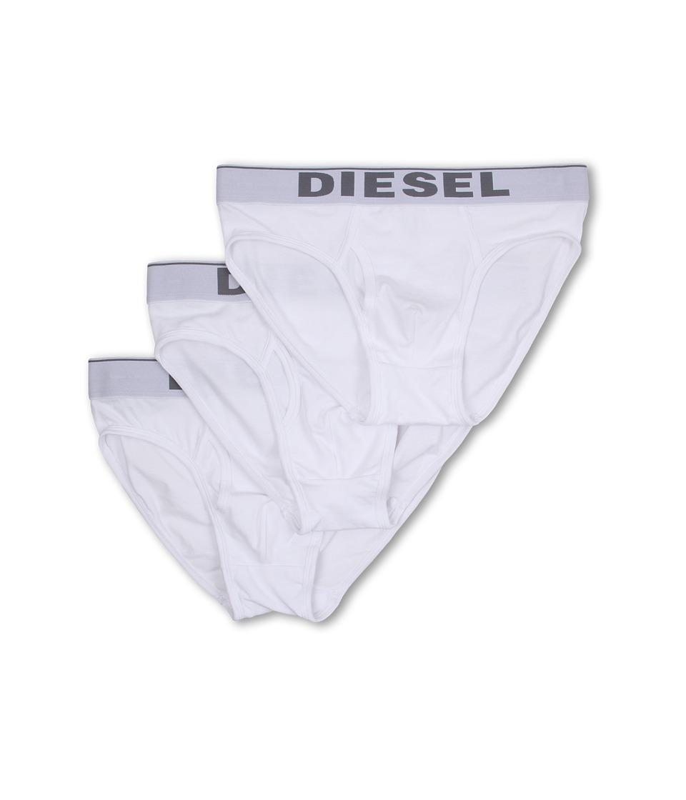 Diesel Blade Underpants 3 Pack NTGA White Mens Underwear