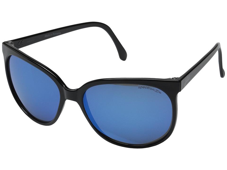 Julbo Eyewear Megeve Vintage Sunglasses Shiny Black Sport Sunglasses