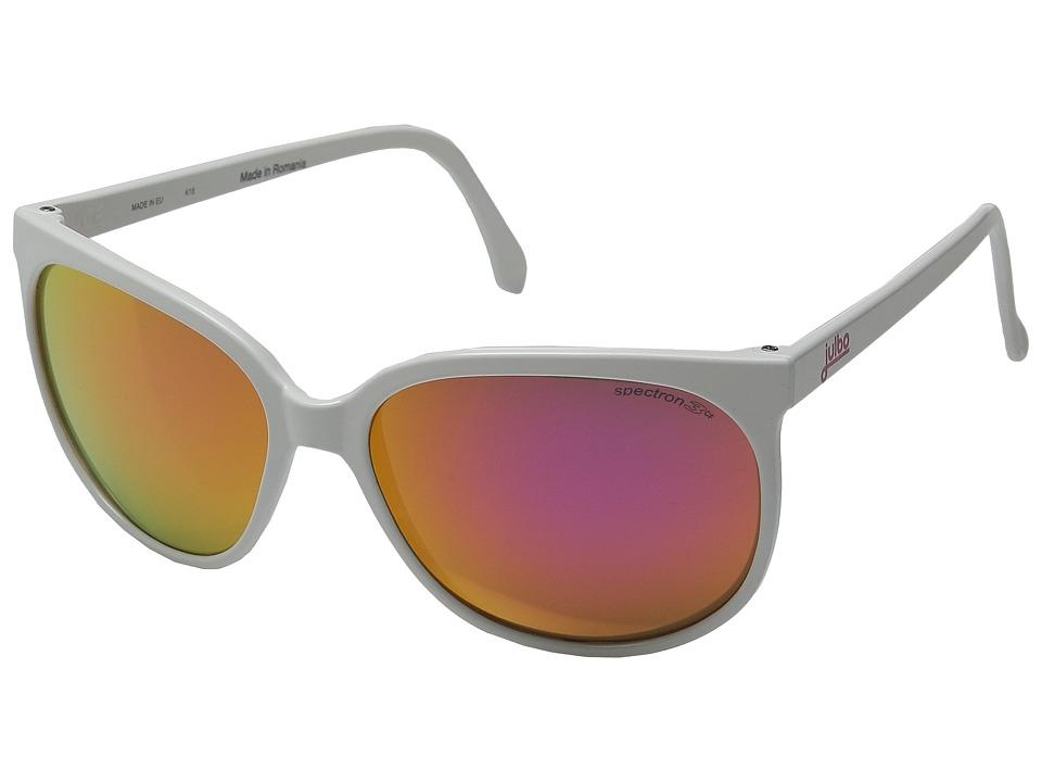 Julbo Eyewear Megeve Vintage Sunglasses Shiny White Sport Sunglasses