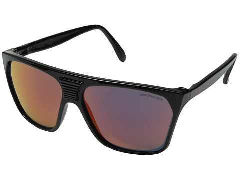Julbo Eyewear Cortina Vintage Sunglasses - Shiny Black with Spectron 3 Color Flash Lens
