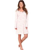 Carole Hochman - Printed Long Sleeve Sleepshirt