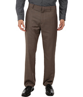Perry Ellis Portfolio - Travel Luxe Modern Fit Tonal Windowpane Pants