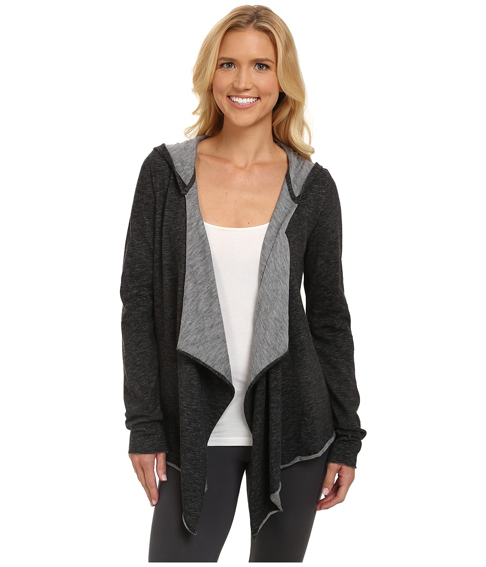 Midnight by Carole Hochman Lounge Capsule Cardigan Black Womens Pajama