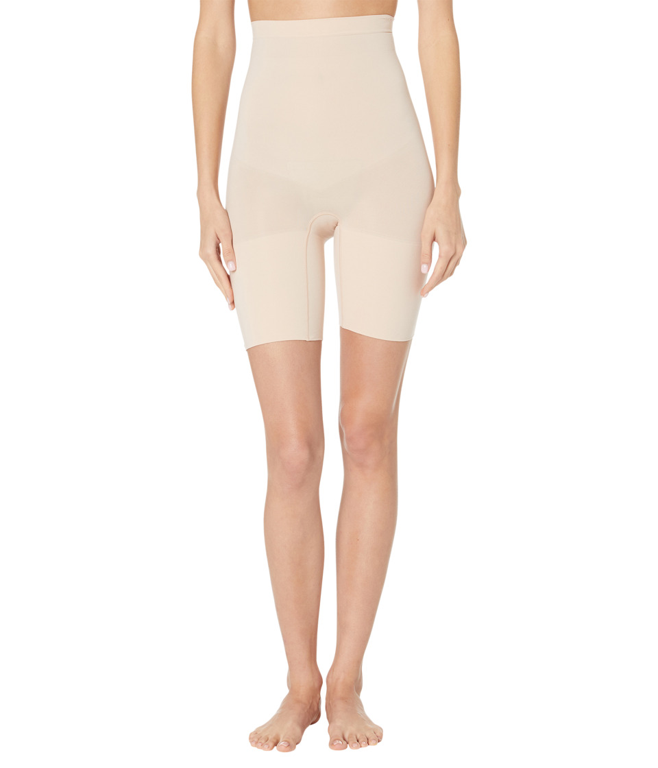 Spanx Higher Power Shorts Soft Nude Womens Underwear